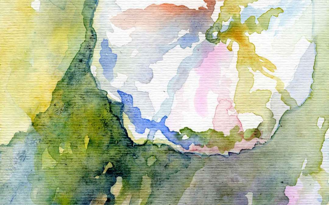 Hollyhock Series #5 – Daily painting #632 (SOLD)