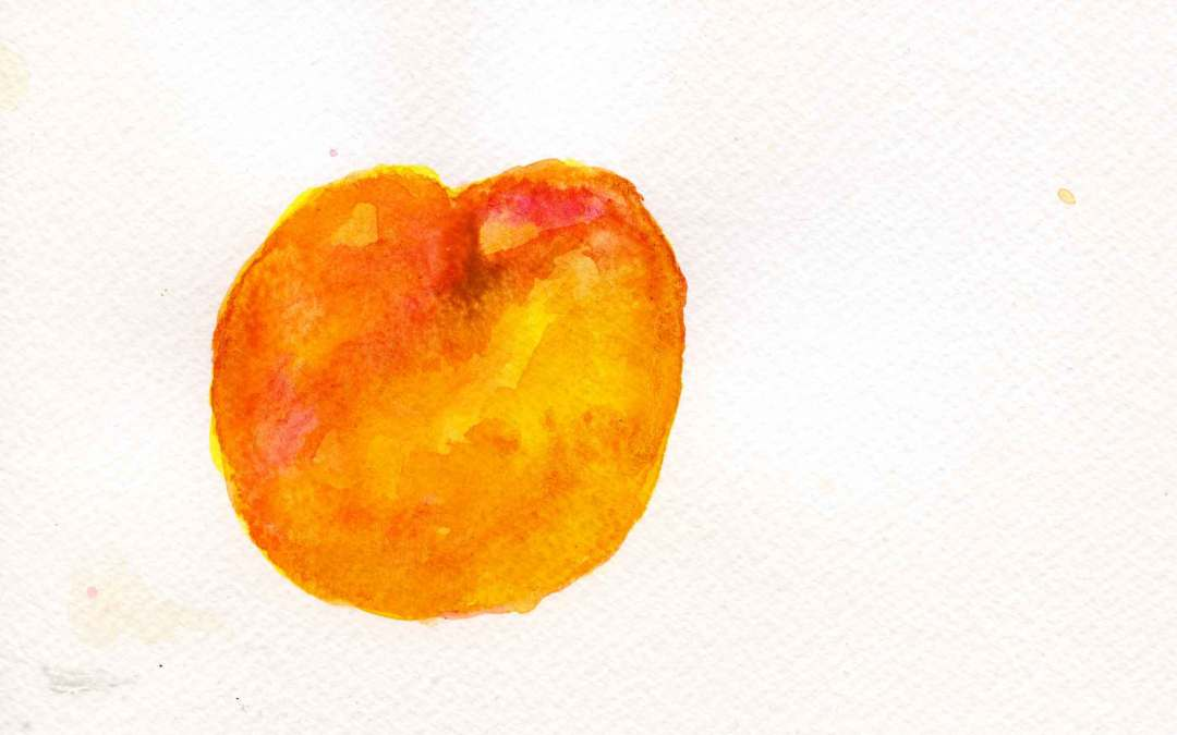 Peach #2 – Daily painting #662