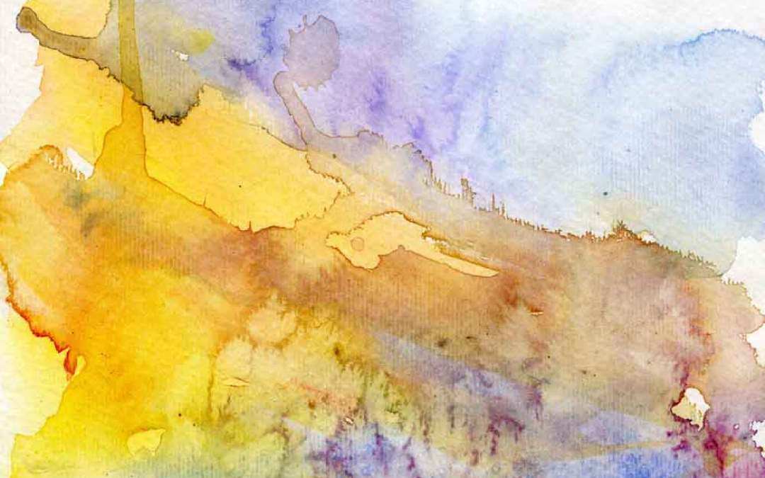 Abstract landscape – Daily painting #690 (SOLD)