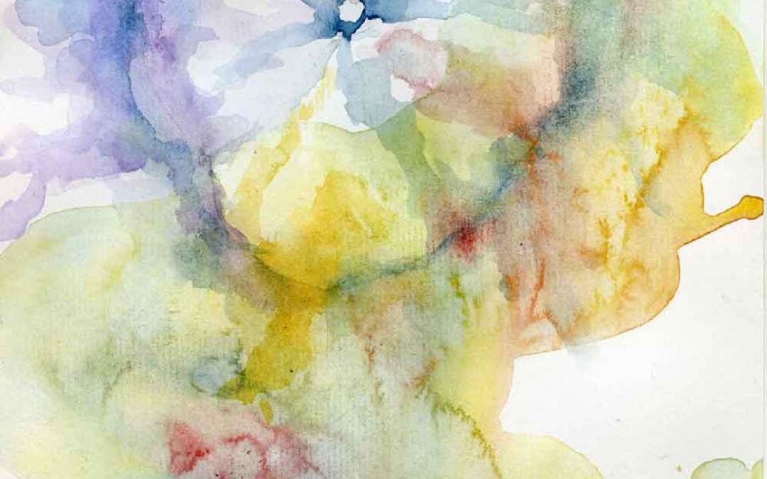 Hollyhock Series #9 – Daily painting #700 (SOLD)