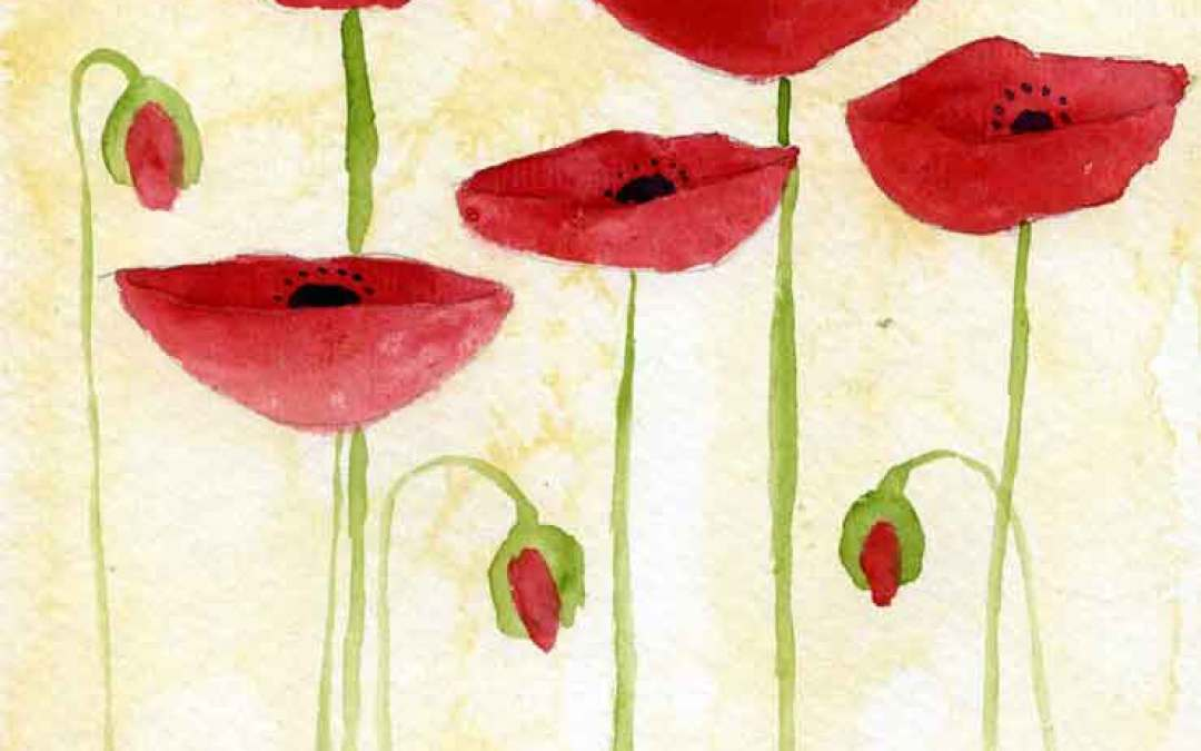 Many Poppies – Daily painting #826 (SOLD)