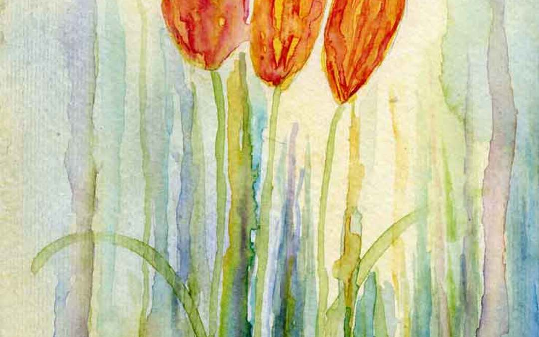 Tulips #9 – Daily painting #827