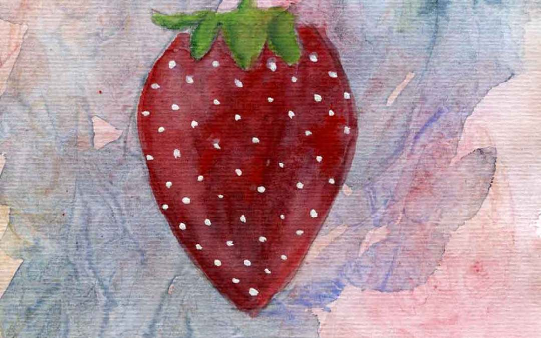 Strawberry – Daily painting #910