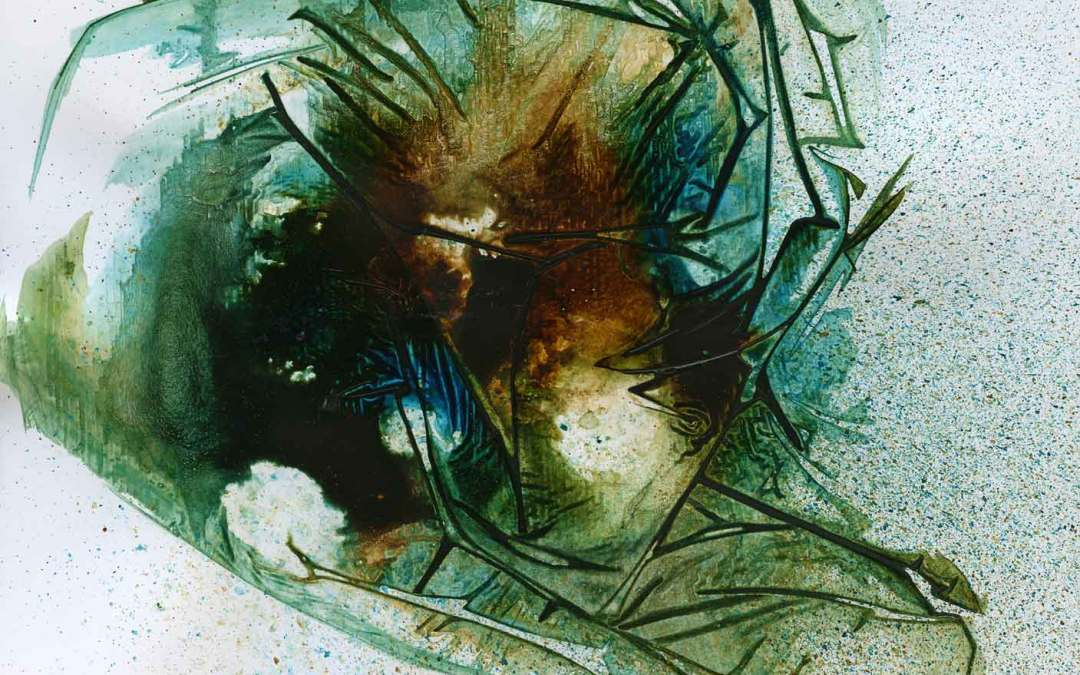 Green and brown abstract (#1315)