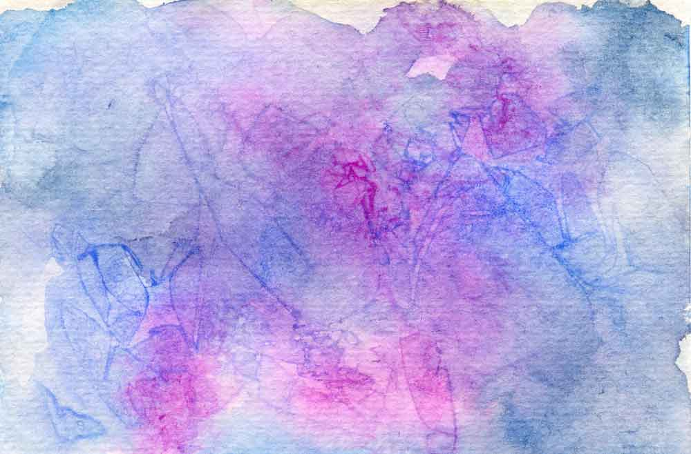 Purple and blue abstract (#183)