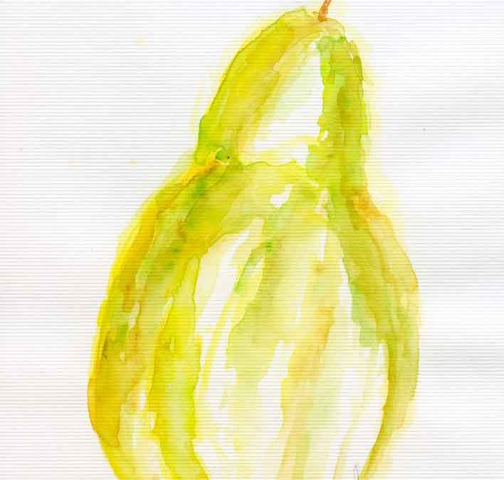 Abstract pear (#429)