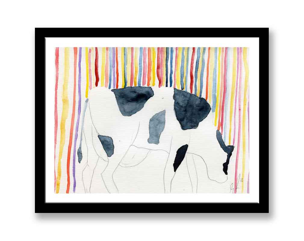 Abstract cow (#557)