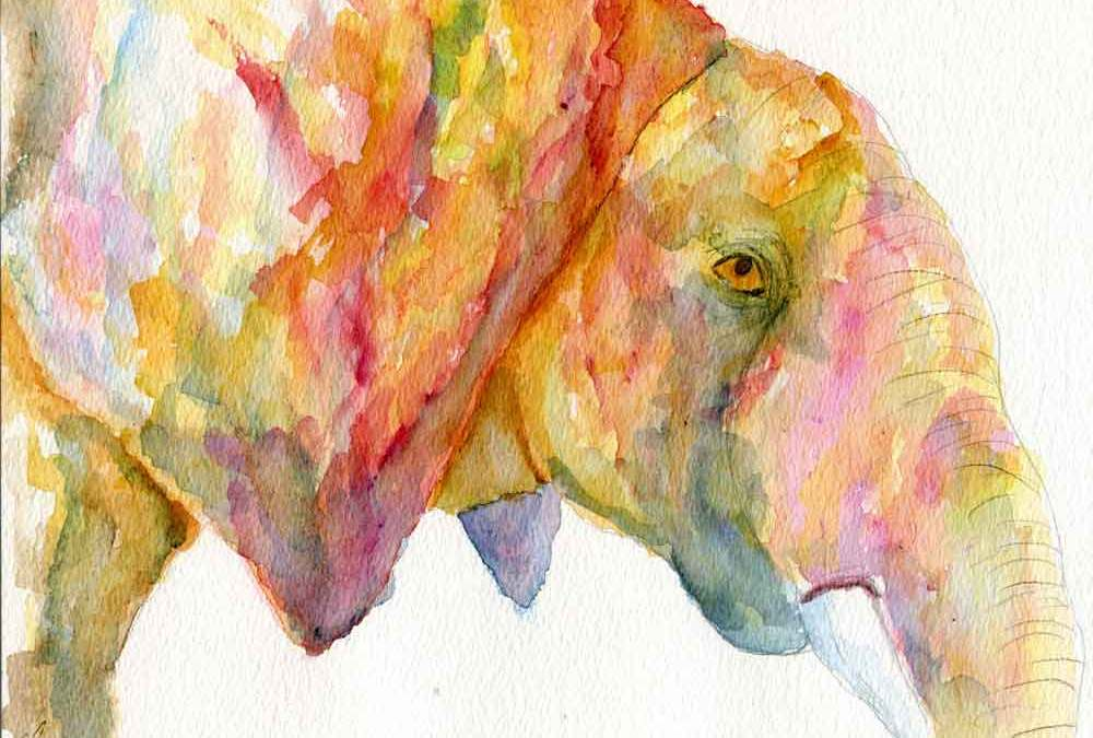 Abstract Elephant (#581)