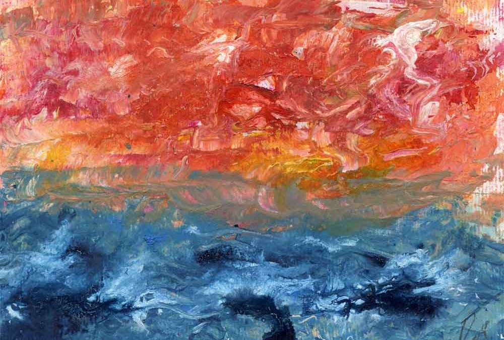 Sunset abstract (#673)