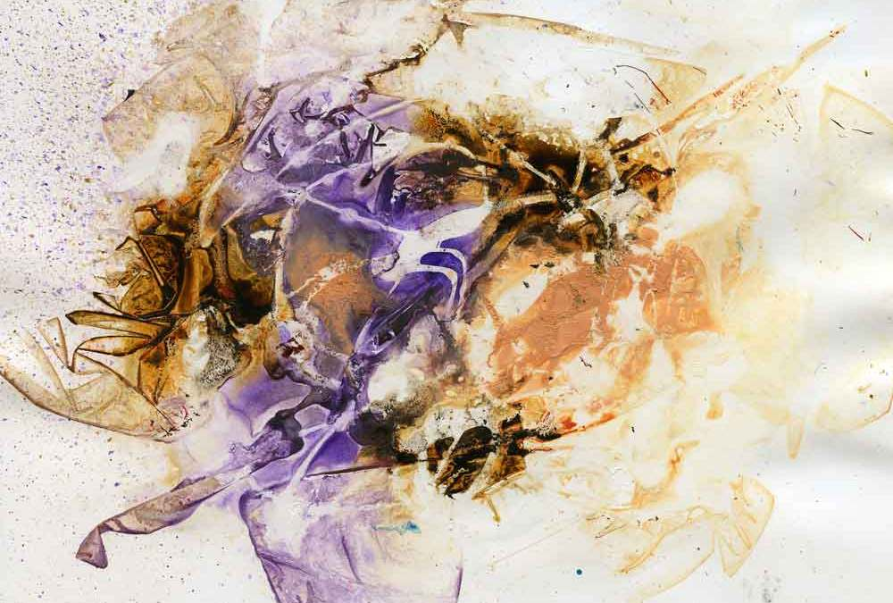 Purple and brown abstract (#1339)