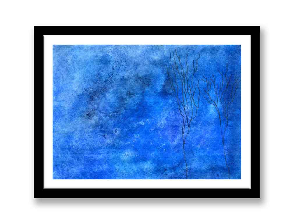 Trees on watercolour  (#237)