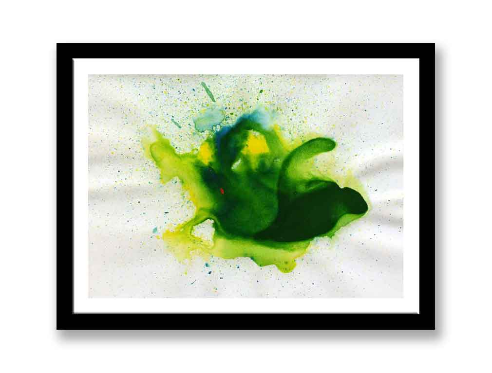 Yellow and green abstract (#1403)
