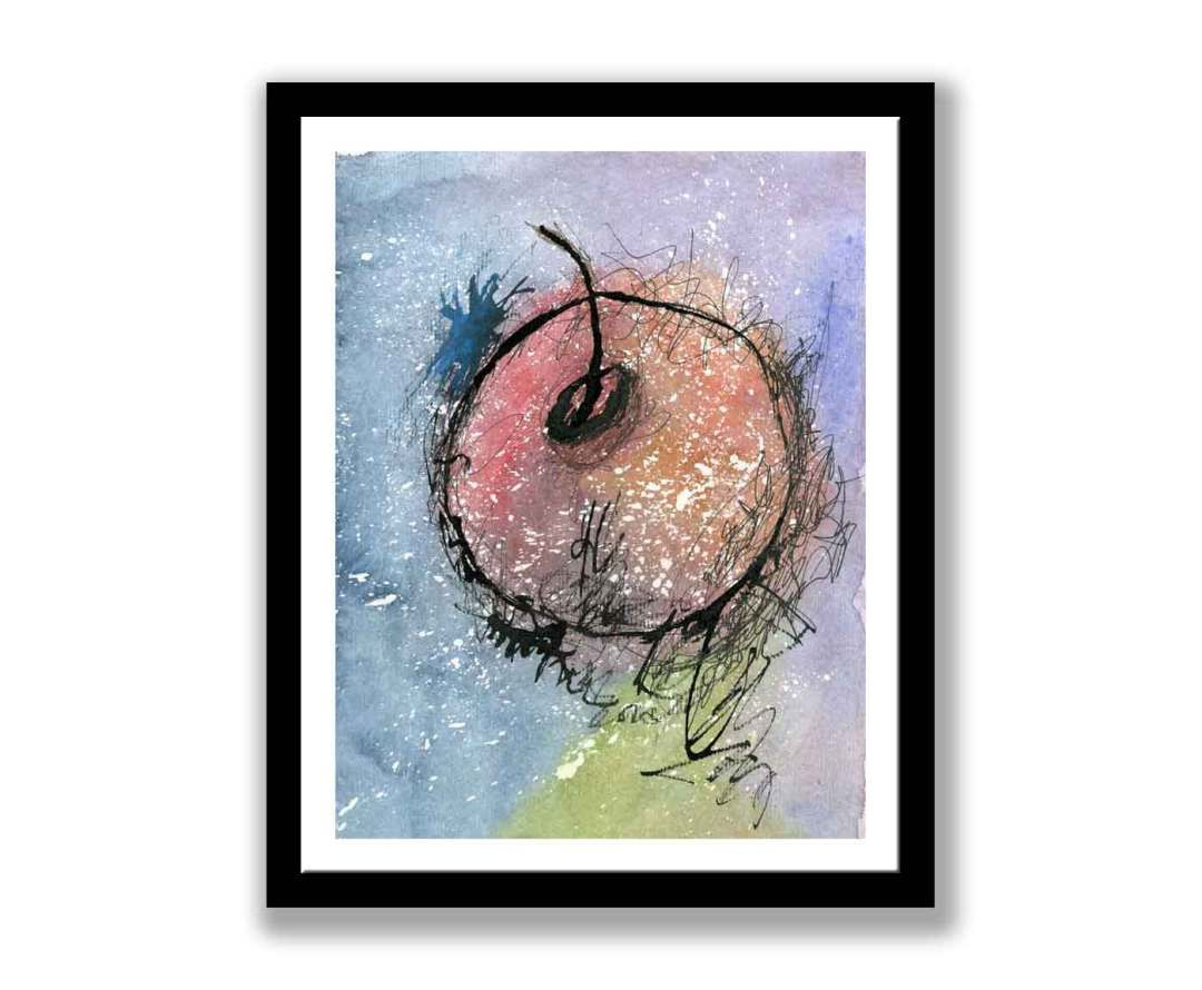 Abstract apple (#232)