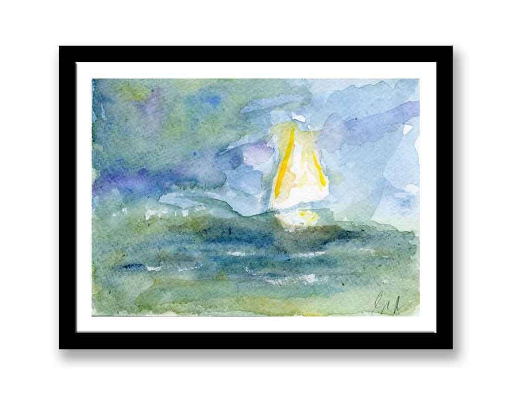 Boat on the water (#459)