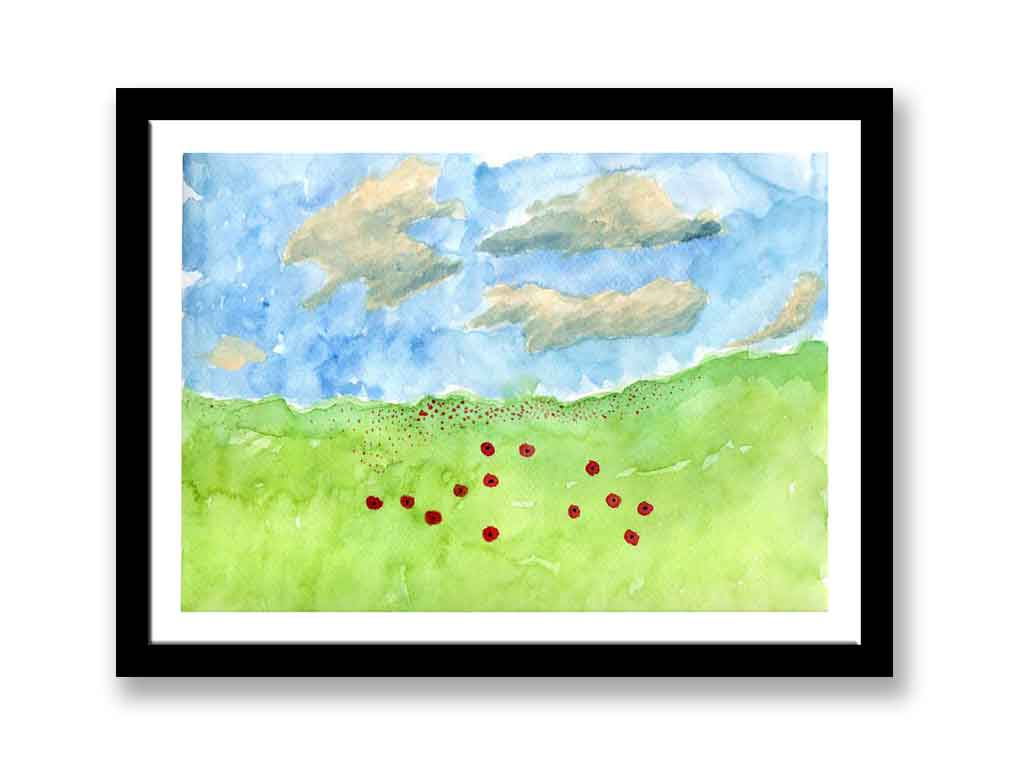 Poppies in a field (#1459)