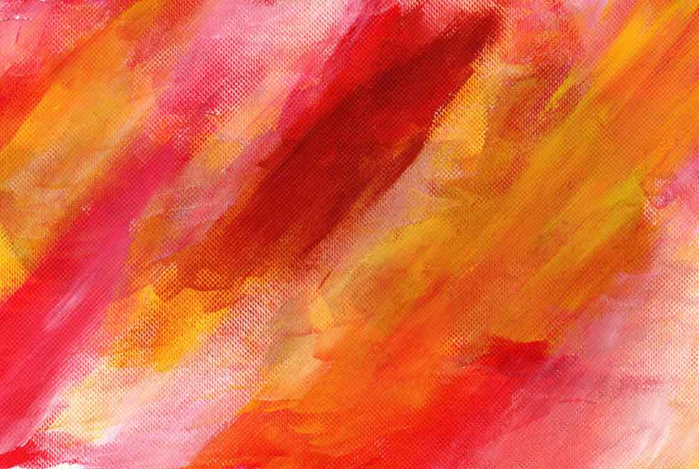 Orange,red and white abstract (#1515)
