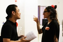 16 Jan - Theatre Performer Lin Htet and Performance Artist Julie Tolentino, FCP 2013 Opening Night, 72-13, Singapore