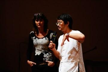 17 Jan - Theatre Director Rachael Swain & Visual Artist Takamine Tadasu, FCP 2013 Day 2, 72-13, Singapore