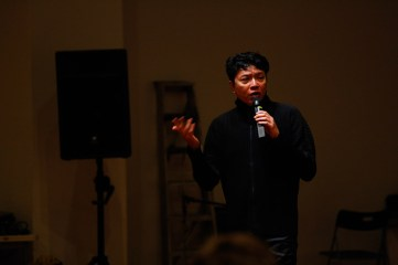 19 Jan, Director Ong Keng Sen supplying more context and thoughts about SUPERINTENSE so far, FCP SUPERINTENSE Day 4, 72-13, Singapore