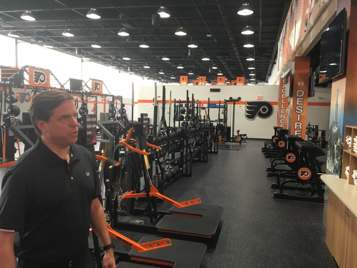 Flyers' new training center part of commitment to excellence