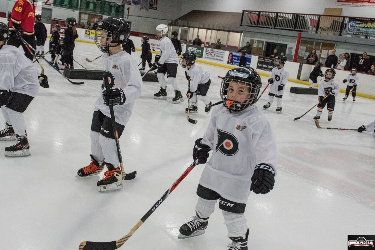 Want to learn hockey the right way? Flyers rookie program offers best instruction for young kids