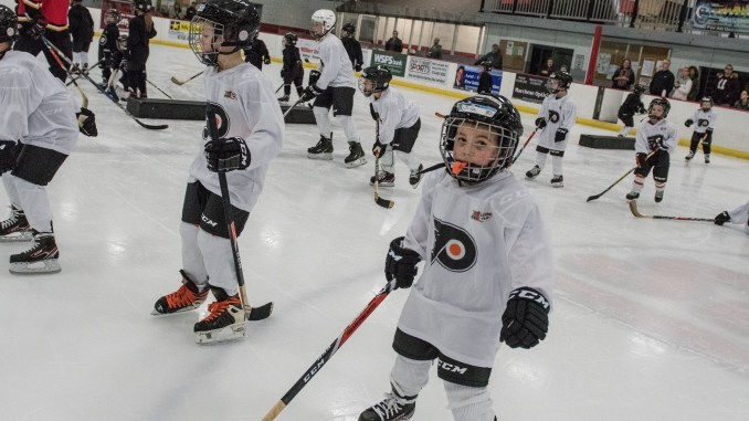 Want To Learn Hockey The Right Way Flyers Rookie Program Offers