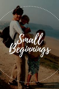 Small Beginnings Pin