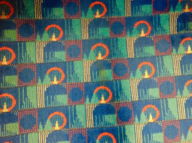 Piccadilly Line seat cover design