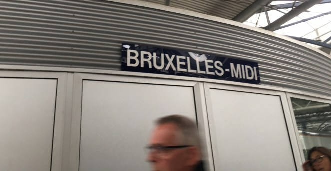 Bruseels - Midi sign