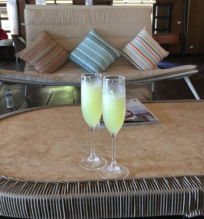 Club Paradise Palawan - Welcome drinks