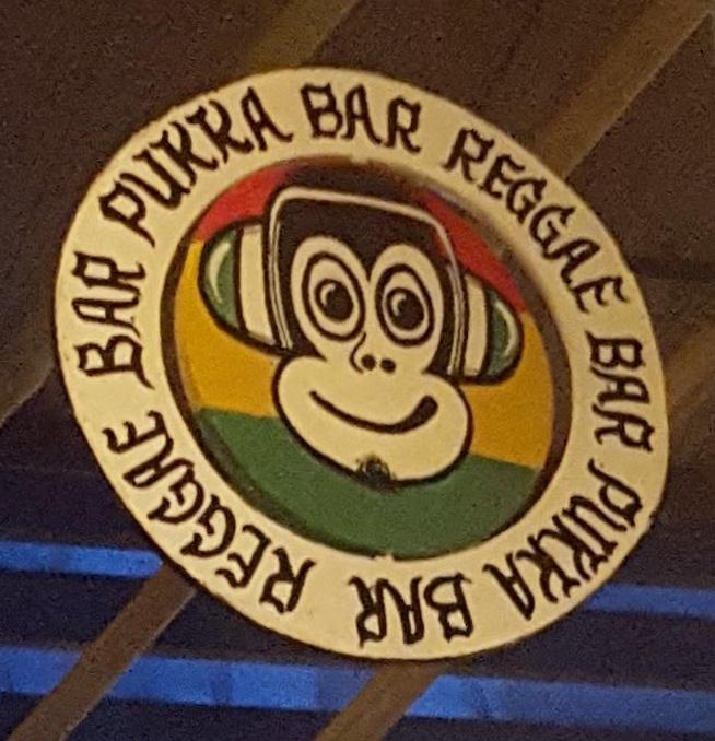 The Pukka bar sign