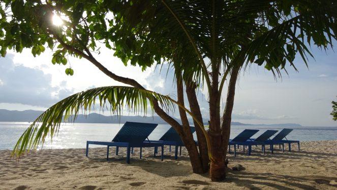 Club Paradise Palawan - Sun beds