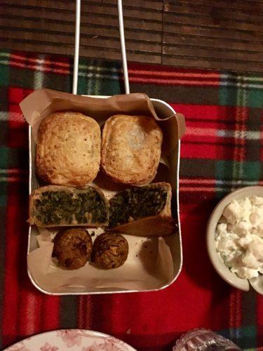 Cahoots Squiffy Picnic - Vegetarian pies