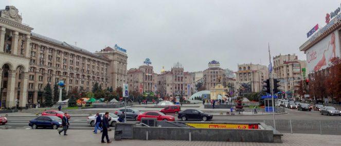 Independance Square, Kiev
