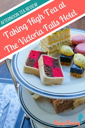 Taking high tea at the Victoria Falls Hotel is a tradition that has been going strong since 1904. Read our afternoon tea review to find out why. #Victoriafallshotel #victoriafalls #afternoontea #hightea