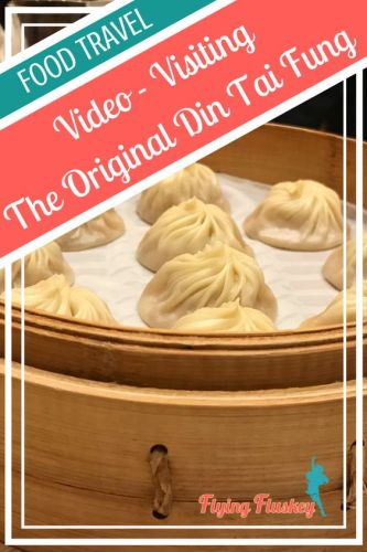 Oh Din Tai Fung, you brought #xiaolongbao into my life, and now I am slightly obsessed with #soupdumplings. I had to go all the way to #Taipei to visit the original #dingtaifung restaurant...and so I made a video of the experience. #foodvideos #dimsum #foodhow #foodietravel