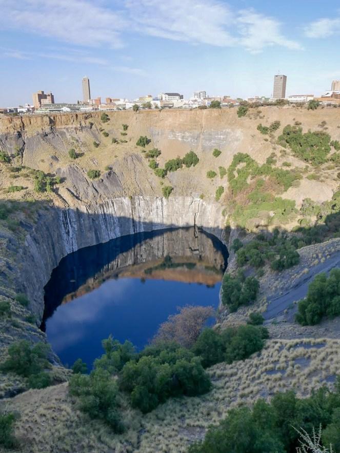 The Big Hole diamond mine in Kimberley South Africa