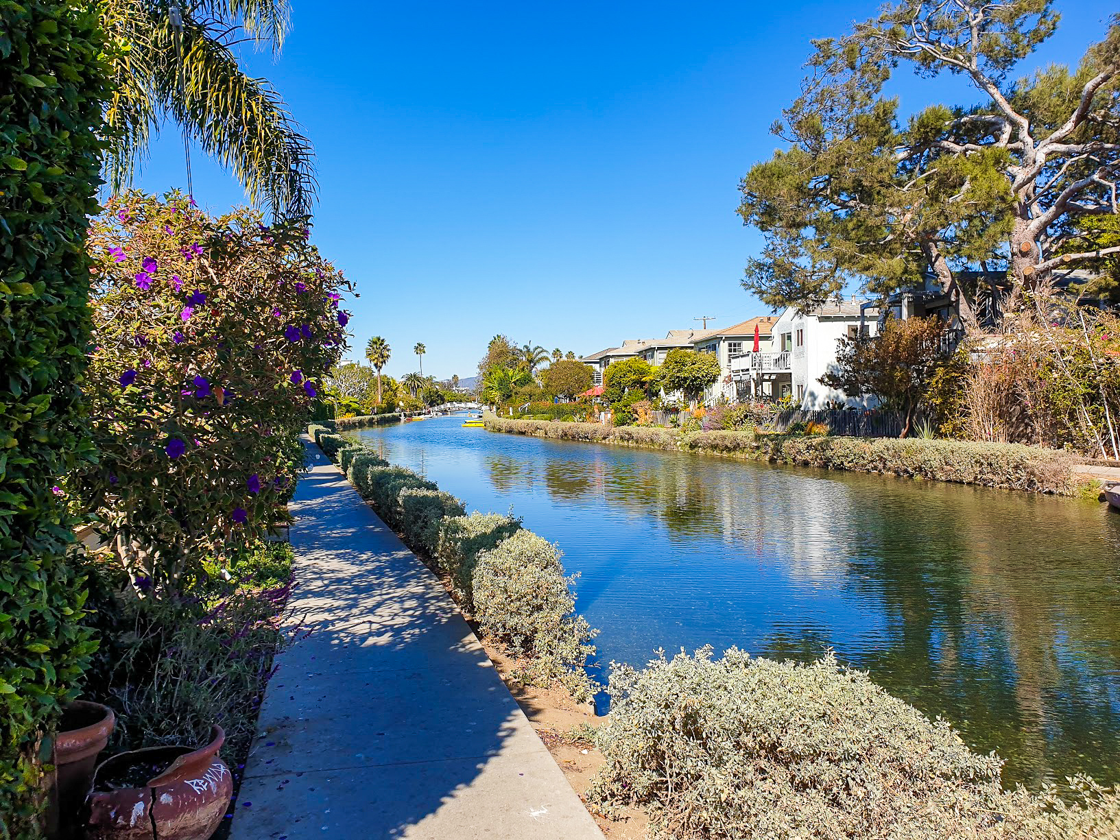 Canal in Venice, Los Angeles