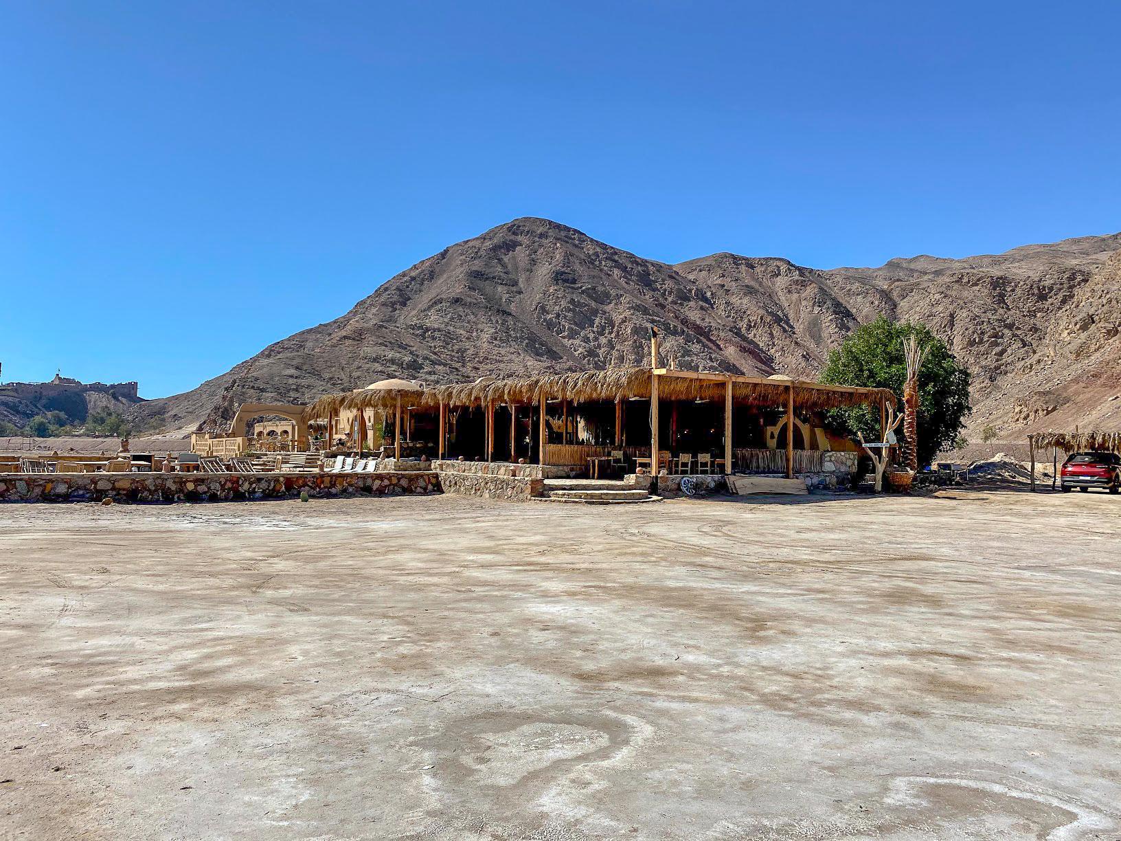 The restaurant/reception building at Aqua Sun, Gulf of Aqaba, Egypt
