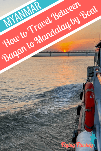 Ttravelling Bagan to Mandalay by boat is both a great way to get from one city to the other, and to see the true Myanmar from the water. #mandalday #bagan #irradwaddycruise