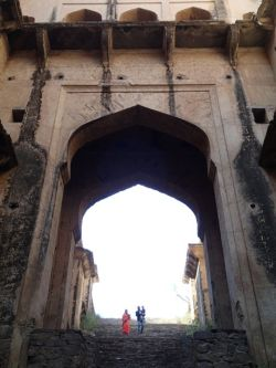 Neemrana stepwell - like an underground fortress