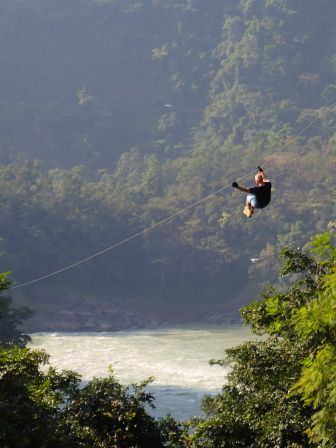 flying fox rishikesh, ziplining in rishikesh, things to do in rishikesh. adventure activities in rishikesh