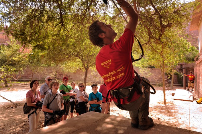 safety briefing by Flying Fox, zip lines, zip lining in India, adventure activities in India