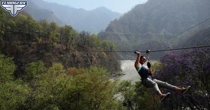 Flying Fox, Flying Fox Rishikesh, Shivpuri, adventure activities in Rishikesh, things to do in Rishikesh, zip lining in Rishikesh, flying fox in Rishikesh