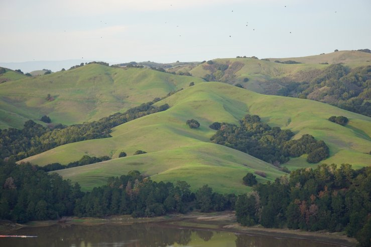 Landscape - Folded California Hills