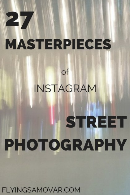 Instagram is full of treasures - and I gather them all in one place. Here you can find some of the best street photography shots. Click through to see more!