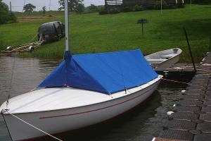Tent Style Cockpit Cover for Sailboat