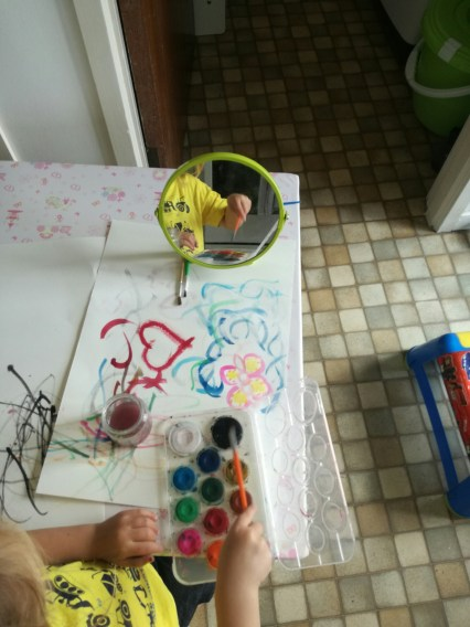 WATERCOLOURS ARE GREAT FOR INDOOR PAINTING