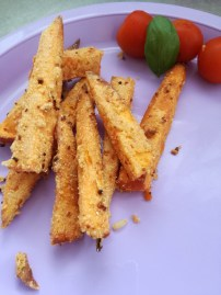 Gluten Free Breaded Kumara Fries