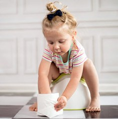 What methods can we use for potty training?